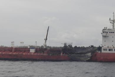 GAGASAN PERAK: Fire / Explosion off Indonesia – August 2010