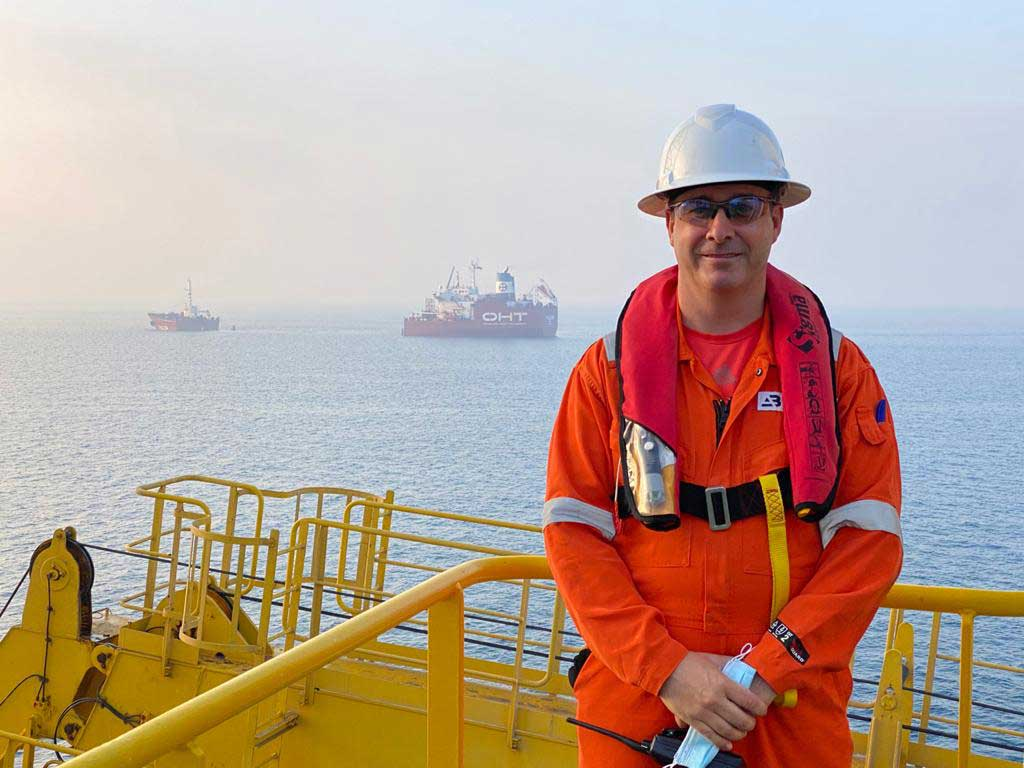 David Duffy offshore