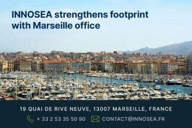 Innosea strengthens footprint with Marseille office
